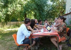 fausses notes atelier ecrire Isabelle Drouet Marc Vella