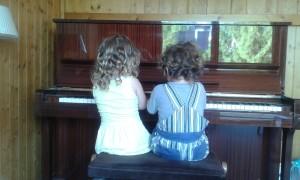 isabelle drouet jouer au piano improvisation