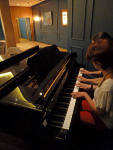 isabelle drouet piano improvisation Marc Vella
